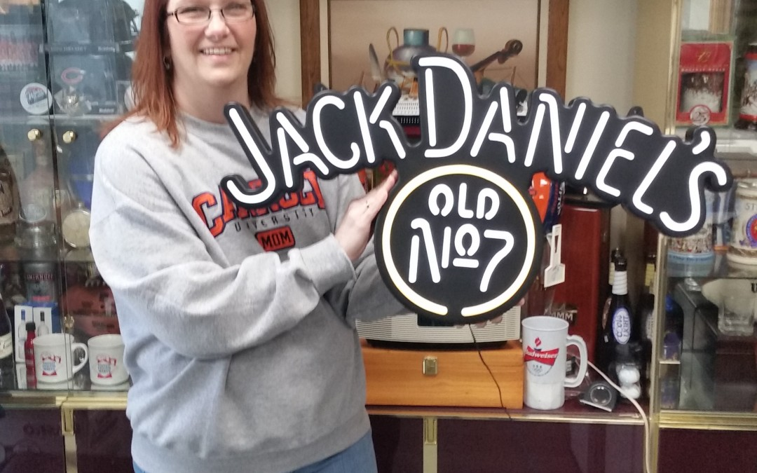 JACK DANIELS NO.7 LED SIGN –  WINNER ANNOUNCED!