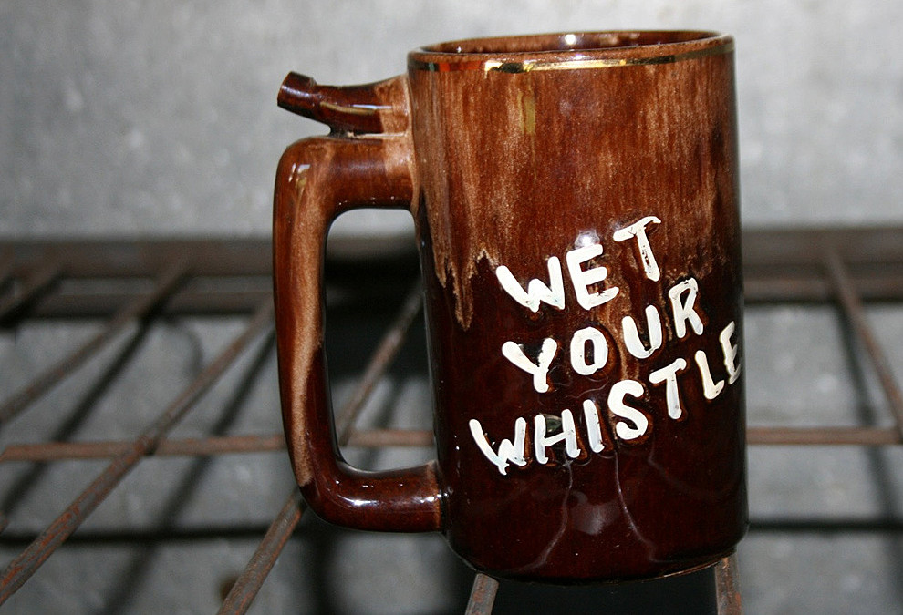 WETTING YOUR WHISTLE