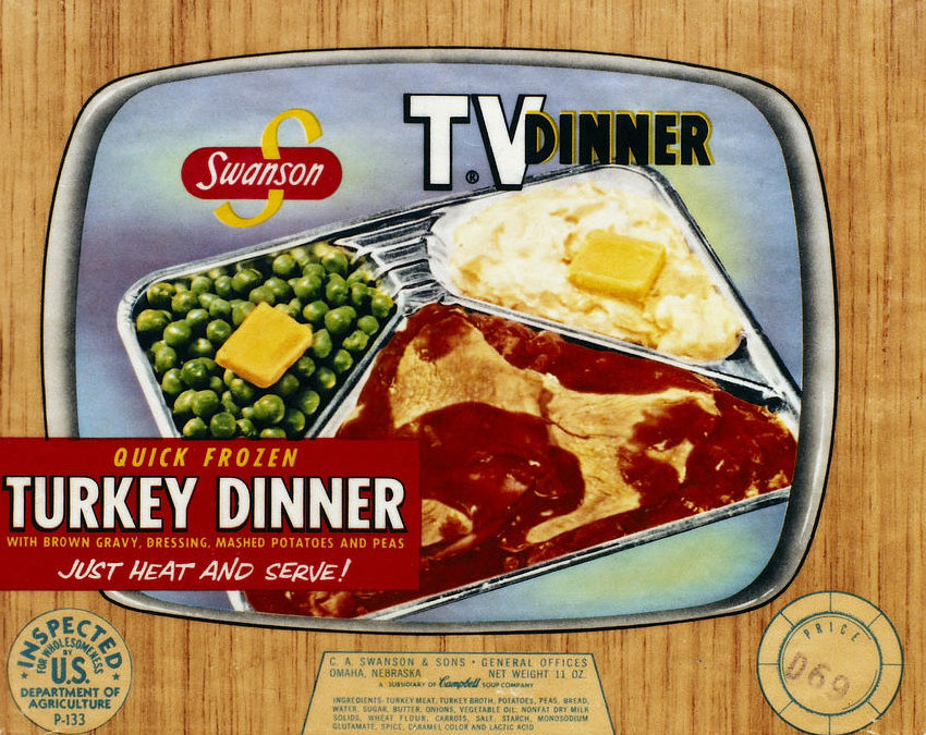 TV DINNERS WERE A THANKSGIVING MISTAKE!